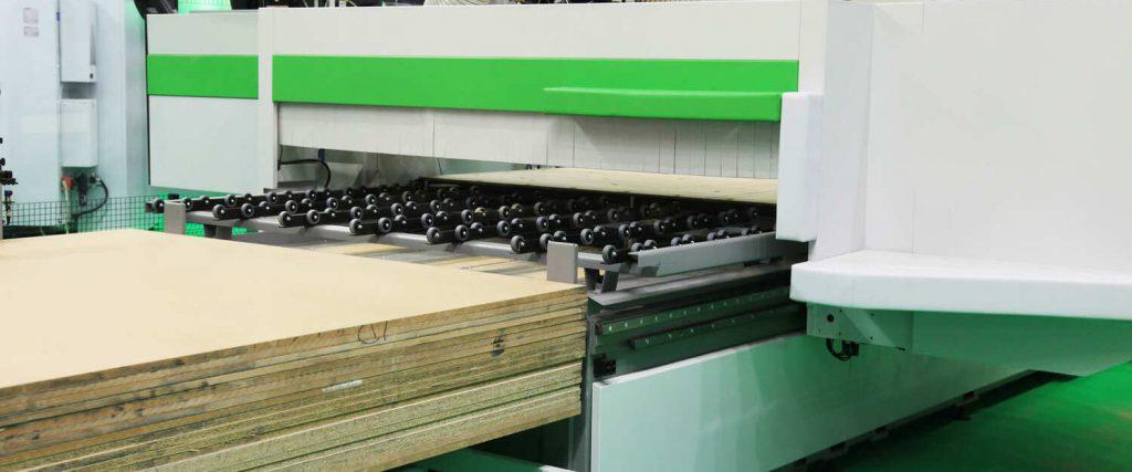 Produzione pannelli di legno